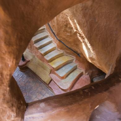 Escalera al centro de la Tierra|DigitaldeXisco Fuster| Compra arte en Flecha.es