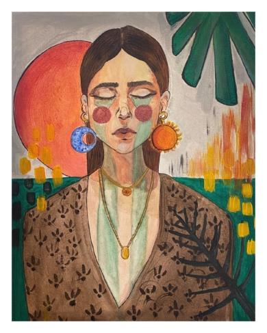 Llorona|PinturadeFederica| Compra arte en Flecha.es