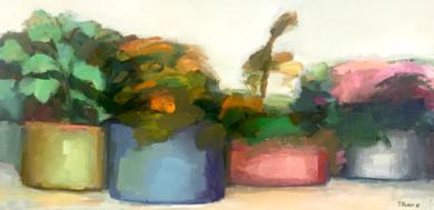 LUGARES Y JARDINES IMAGINARIOS|PinturadeTeresa Muñoz| Compra arte en Flecha.es