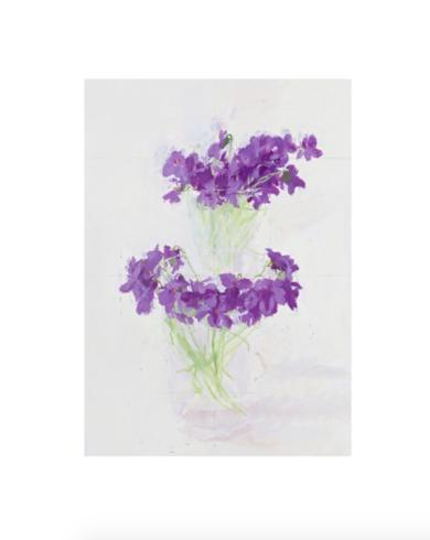 Violetas|DigitaldeAntonio López| Compra arte en Flecha.es