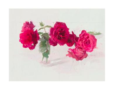 Rosas rojas|DigitaldeAntonio López| Compra arte en Flecha.es