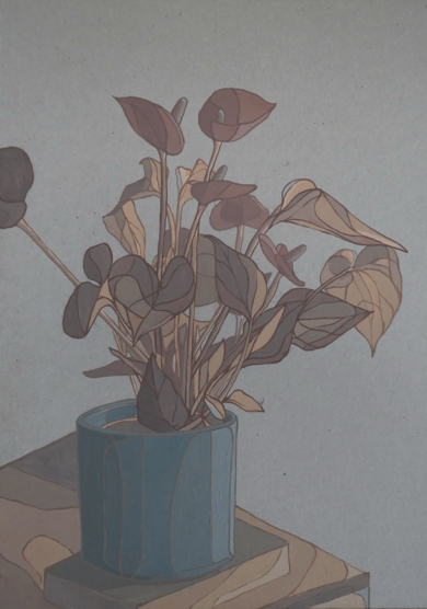 Antuario sobre libro,|PinturadeTaquen| Compra arte en Flecha.es