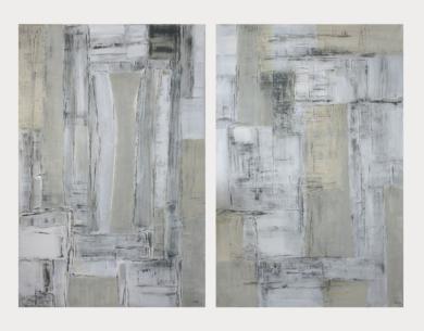 Composición IX y X|PinturadeMay Pérez| Compra arte en Flecha.es