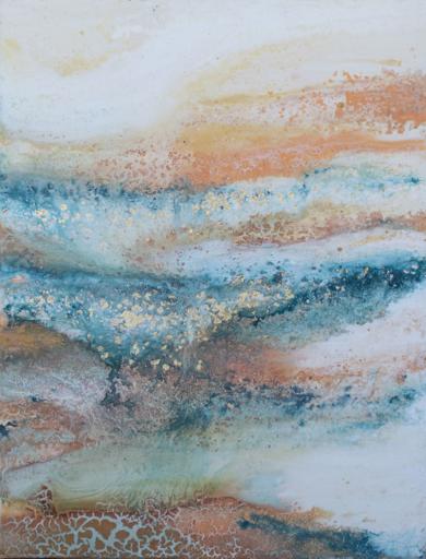 [glaciares] VII|PinturadeElisa de la Torre| Compra arte en Flecha.es
