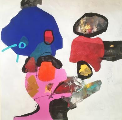 Figuras pintadas|PinturadeHéctor Glez| Compra arte en Flecha.es