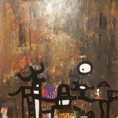 sin titulo|PinturadeHéctor Glez| Compra arte en Flecha.es