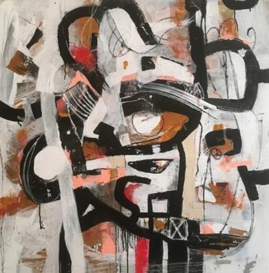 the present|PinturadeHéctor Glez| Compra arte en Flecha.es
