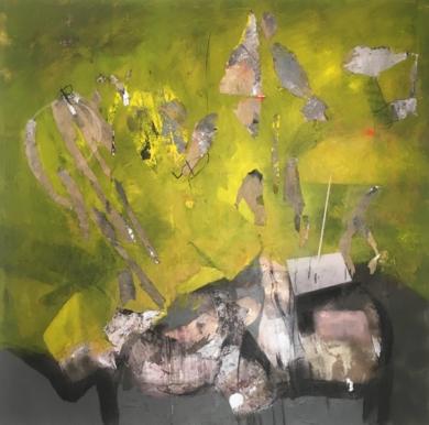 Paisaje 9|PinturadeHéctor Glez| Compra arte en Flecha.es