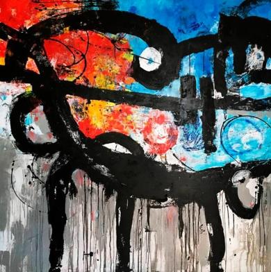 1936|PinturadeHéctor Glez| Compra arte en Flecha.es