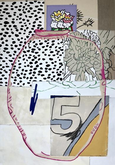 Floral Arrangement n.4|PinturadeNadia Jaber| Compra arte en Flecha.es