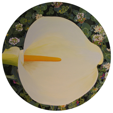 """Cala circular""|PinturadeCarmen Varela| Compra arte en Flecha.es"