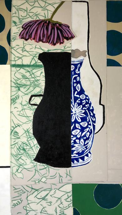 Flower Arrangement n.5|PinturadeNadia Jaber| Compra arte en Flecha.es