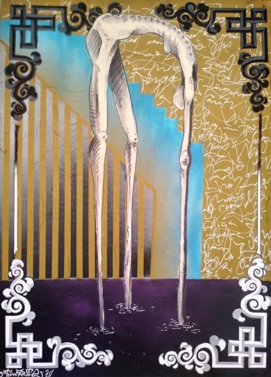 Séquelles de la societé|DibujodeTxina Tequis| Compra arte en Flecha.es