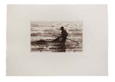Pescador de Bagamoyo N 8|Obra gráficadeCalo Carratalá| Compra arte en Flecha.es