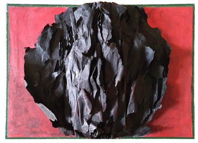 Fénix negro|EsculturadeMaría X. Fernández| Compra arte en Flecha.es