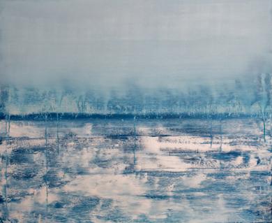 Mist on the horizon|PinturadeLucia Garcia Corrales| Compra arte en Flecha.es