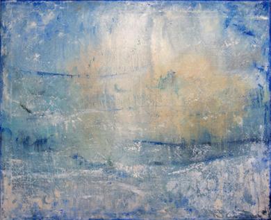 Yellow sky|PinturadeLucia Garcia Corrales| Compra arte en Flecha.es