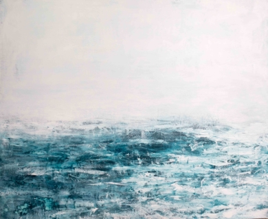 Water in the fog|PinturadeLucia Garcia Corrales| Compra arte en Flecha.es