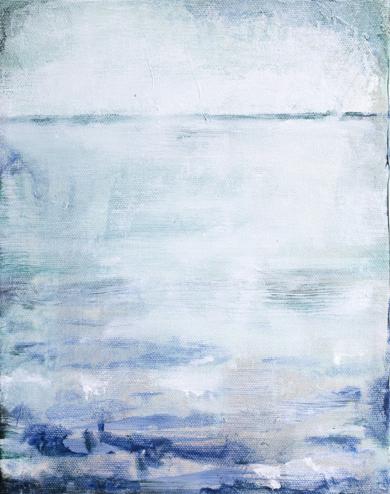 Frozen water II|PinturadeLucia Garcia Corrales| Compra arte en Flecha.es