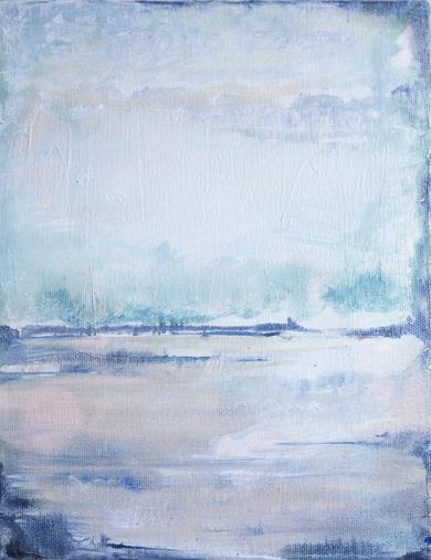 Frozen water V|PinturadeLucia Garcia Corrales| Compra arte en Flecha.es