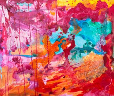 Caos|PinturadeÁngeles Romo| Compra arte en Flecha.es