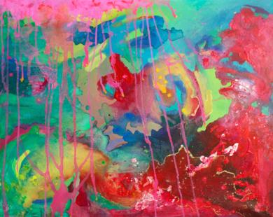 Espacio tiempo|PinturadeÁngeles Romo| Compra arte en Flecha.es
