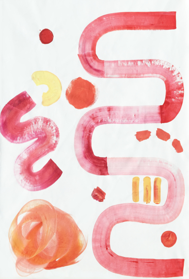 Todo Es Relativo|PinturadeVioleta Maya McGuire| Compra arte en Flecha.es