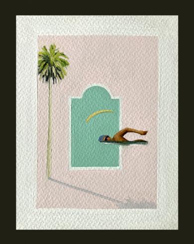 Verano|PinturadePablo Colomo| Compra arte en Flecha.es