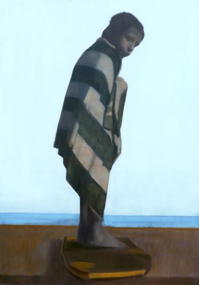 El último baño del día|PinturadePablo Colomo| Compra arte en Flecha.es