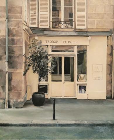 Paris frente al Sena|PinturadeCarmen Nieto| Compra arte en Flecha.es