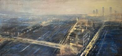 Madrid aereo|PinturadeISABEL  AVILA| Compra arte en Flecha.es