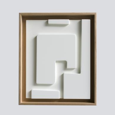 Blanco sobre blanco_02|Escultura de pareddeCandela Muniozguren| Compra arte en Flecha.es