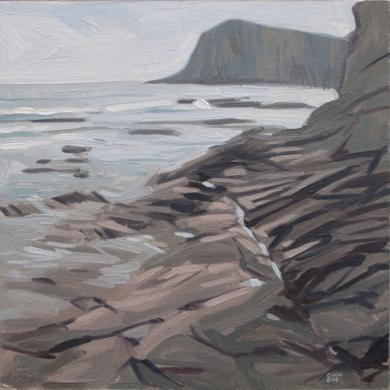 Cabo de Gata Escullos|PinturadeCarlos J. Márquez| Compra arte en Flecha.es