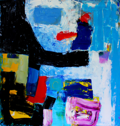 7.eme Toile PinturadeAurelie Jeannin  Compra arte en Flecha.es