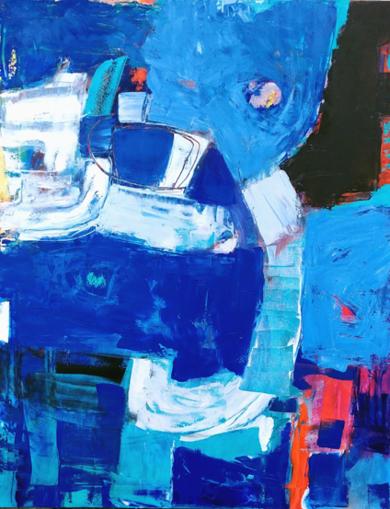 Grand Espace Libre 2 PinturadeAurelie Jeannin  Compra arte en Flecha.es