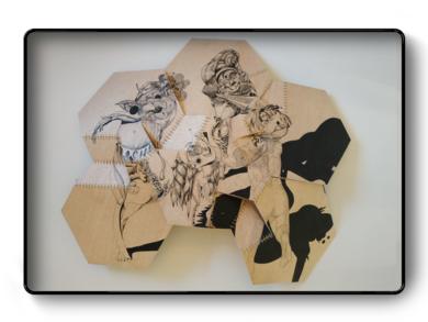 Bailarinas|DibujodePopaptuyu| Compra arte en Flecha.es