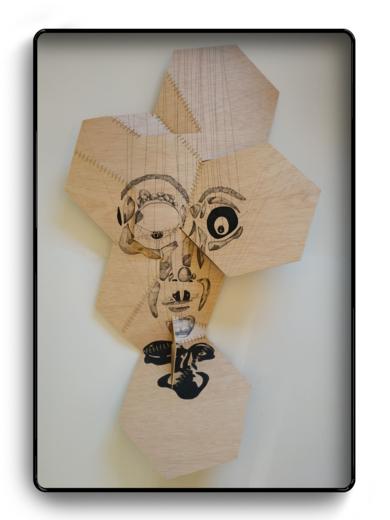 Marioneta|DibujodePopaptuyu| Compra arte en Flecha.es