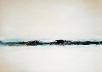La sombra de un viage silencioso|PinturadeEsther Porta| Compra arte en Flecha.es