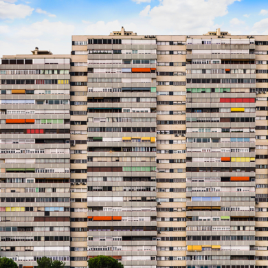 Apartment Block, Madrid, Spain|FotografíadeAndy Sotiriou| Compra arte en Flecha.es