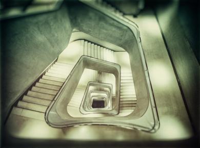 Staircase,  La Caixa  #02|FotografíadeAndy Sotiriou| Compra arte en Flecha.es