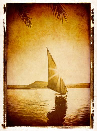 Felucca, Nile , Egypt|FotografíadeAndy Sotiriou| Compra arte en Flecha.es