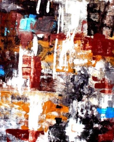 Vibrance Terre PinturadeAurelie Jeannin  Compra arte en Flecha.es