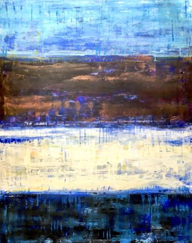Profundidades Marinas|PinturadeErika Nolte| Compra arte en Flecha.es