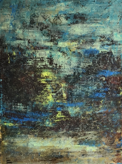 Paisaje difuso|PinturadeEnric Correa| Compra arte en Flecha.es