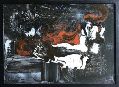 Llamarada|PinturadeEnric Correa| Compra arte en Flecha.es