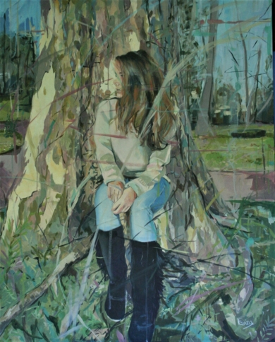 En el Árbol|PinturadeAmaya Fernández Fariza| Compra arte en Flecha.es