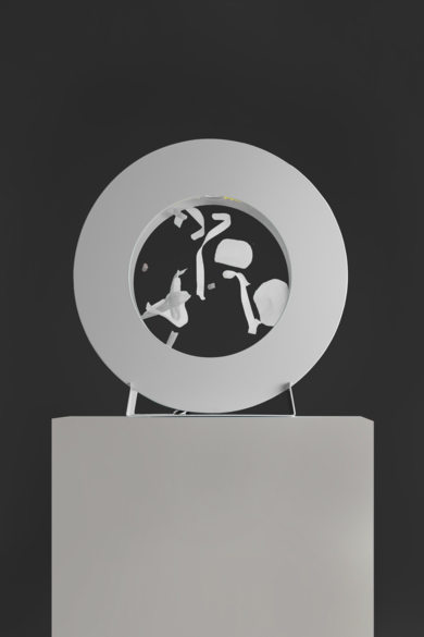 La Pausada Belleza del Movimiento Acuático, BL. I|EsculturadeVioleta Maya McGuire| Compra arte en Flecha.es