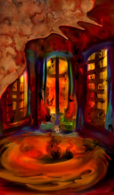 ROOM 1 (the Vortex Room)|DigitaldeHelena Revuelta| Compra arte en Flecha.es
