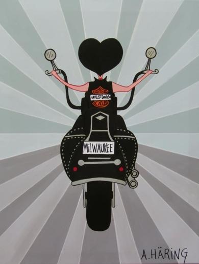 Matilda Harley de vuelta|PinturadeÁngela Fernández Häring| Compra arte en Flecha.es