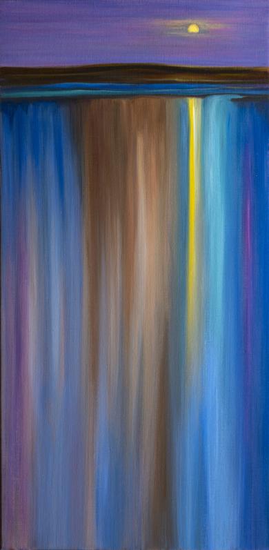 Nocturno 1|PinturadeHelena Revuelta| Compra arte en Flecha.es